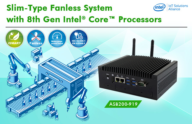 Mini-ITX Board with 9th Gen Intel CPUs for  Performance-Intensive Applications