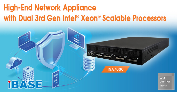 High-End Network Appliance with Dual 3rd Gen Intel® Xeon® Scalable Processors