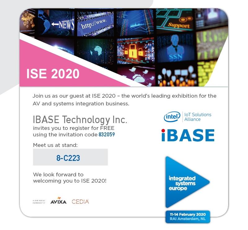 IBASE ISE 2020 Invitation