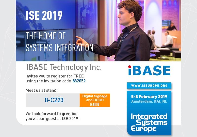 IBASE ISE 2019 Invitation