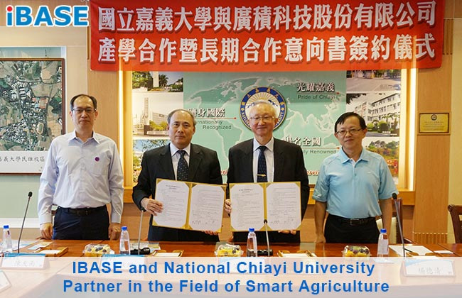 IBASE and National Chiayi University Partner in the Field of Smart Agriculture