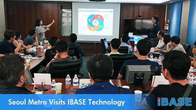 Seoul Metro Visits IBASE Technology